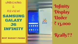 SAMSUNG GALAXY J6 (2018) Unboxing,Specification & Review (in HINDI)-Chat Over Video-Infinity Display