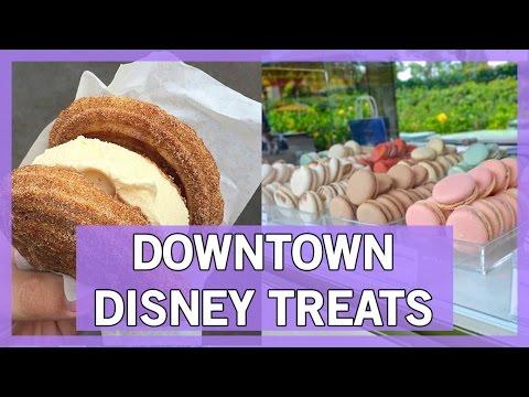 MUST TRY Treats in Downtown Disney!