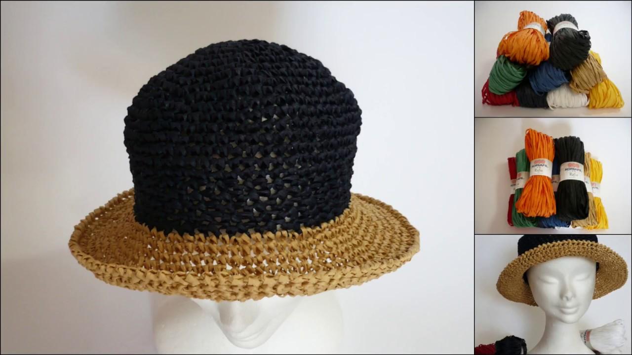 trova il prezzo più basso ma non volgare vendita scontata Cappello di Rafia