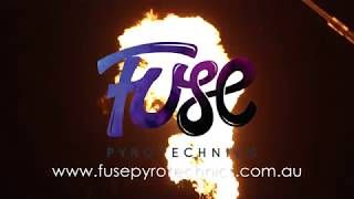 Fuse Pyrotechnics at Eagle Farm Racecourse - long showreel.