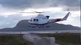 Atlantic Airways helicopter service