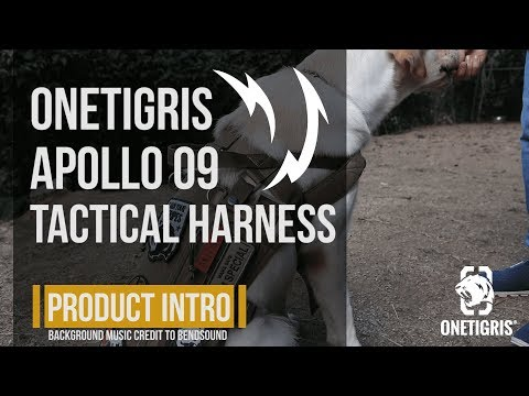 OneTigris APOLLO 09 Tactical Harness: Service Dog & Assistance Harness Compatible Vest