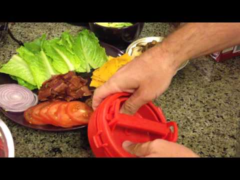 As Seen on TV Review: Stufz Burger and Burger Making