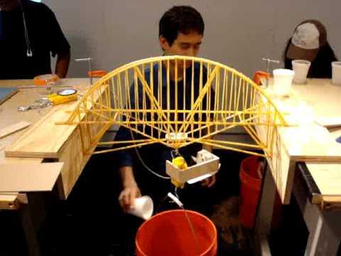 spaghetti truss bridge designs