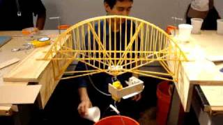 Nyit Structures Pasta Bridge Build Off