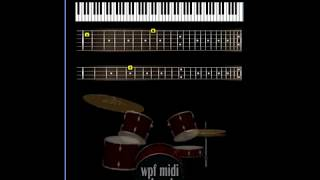 WPF Midi Band - Led Zeppelin - Moby Dick