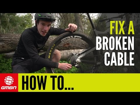 How To Fix A Broken Gear Cable - Get Home When Your Cable Snaps On A Ride | Trailside Maintenance