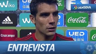 Entrevista a Augusto Fernández tras el Real Betis (1-1) Celta de Vigo