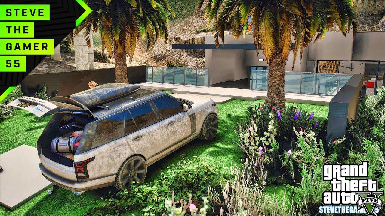 GTA 5 mods - Small Villa & New Mansion WIP (GTA 5 PC REAL LIFE MODS)