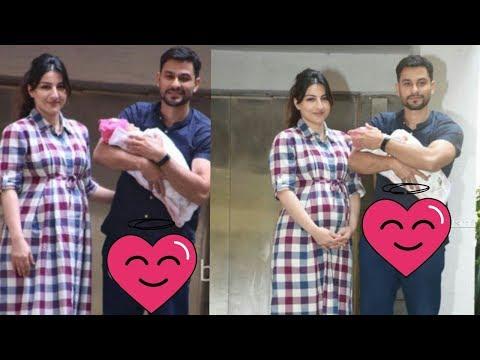 Saif's sister Soha Ali Khan returns back from hospital with new born girl Inaaya Kemmu 😍 |Latest