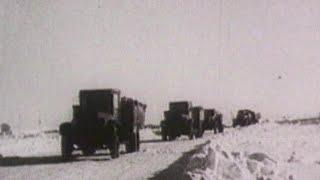 Фото 18 января 1943 года бойцы Красной Армии прорвали блокаду Ленинграда.