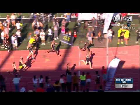 JAKE PAUL VS TBJZL (Tobi), WHO WON?? (SLOW MOTION) 100m Dash