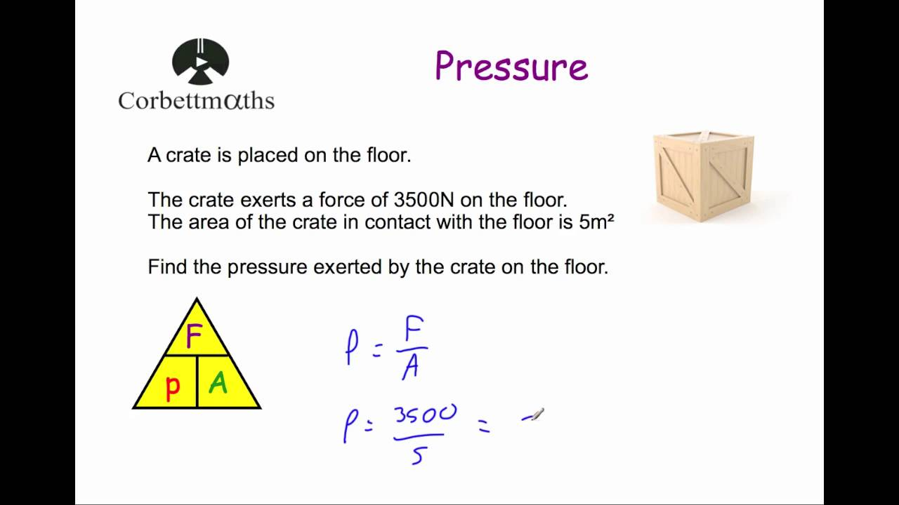 pressure corbettmaths [ 1280 x 720 Pixel ]