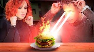 Обычная еда против еды для супергероев – 7 идей / Челлендж!