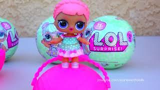 Lol Überraschung Babys Gehen Schwimmen! Spielzeug Und Puppen Spaß Für Kinder Treffen Der Serie 2 Mä
