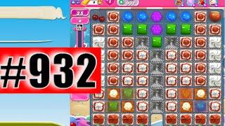 Candy Crush Saga Level 932 (NEW)   Complete!