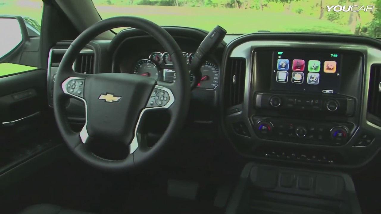 2014 Chevy Silverado INTERIOR - YouTube