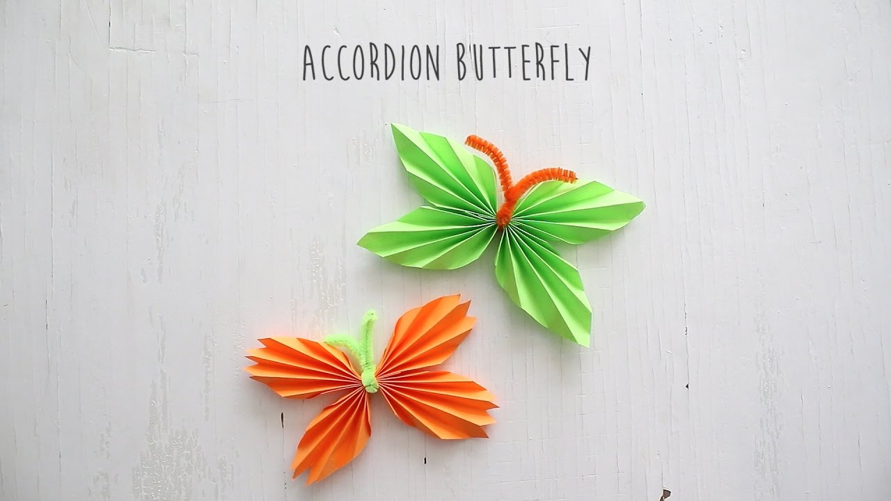 Easy Paper Butterfly Origami - Cute & Easy Butterfly. Origami ... | 720x1280