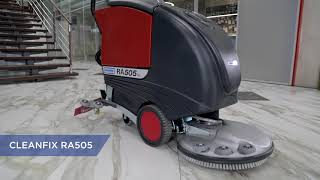 уборочная машина Cleanfix RA 535 IBCT обзор