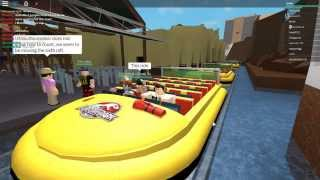 Roblox Rollercoaster Commentaires: Jurassic Park The Ride