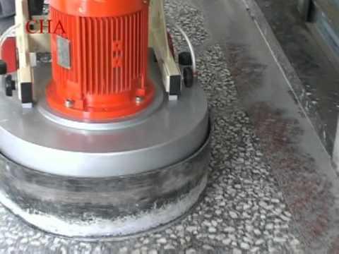 TERRAZZO POLISHING MACHINE MH603  YouTube