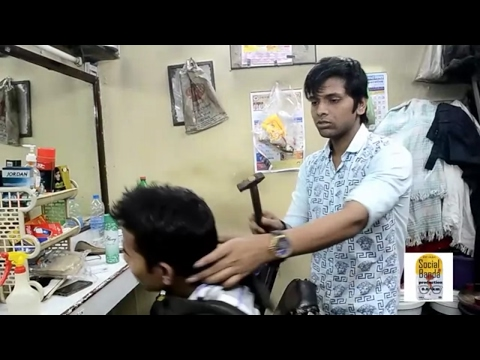 Saloon Prank || Prank in India || Prank  2017 || Salon Prank || Social Banda