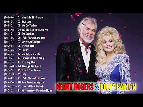 Kenny Rogers, Dolly Parton Grreatest Hits - Top 20 Best Country Songs 2019 Mp3