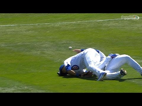 Rizzo, Russell shaken up after collision