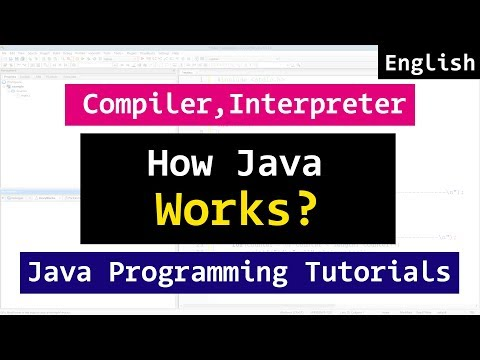 02 | How Java Program Works, Compiler, Interpreter  | Java Tutorial for Beginners