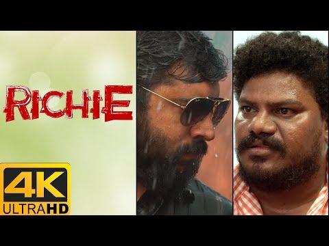Richie Movie Scenes | Nivin Pauly Mass Intro Scene | Raj Bharath recollects past