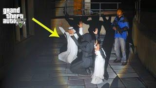 GTA 5 REAL LIFE MOD #207 FRANKLIN SAVES THE PRINCE OF DUBAI