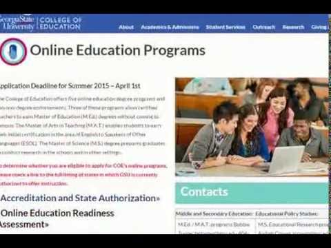 Georgia State University College Of Education Online Education Programs