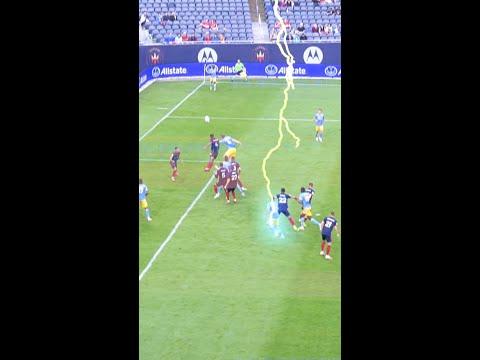 Lightning Strikes When 17-Year-Old Scores A Bicycle Kick #Shorts thumbnail