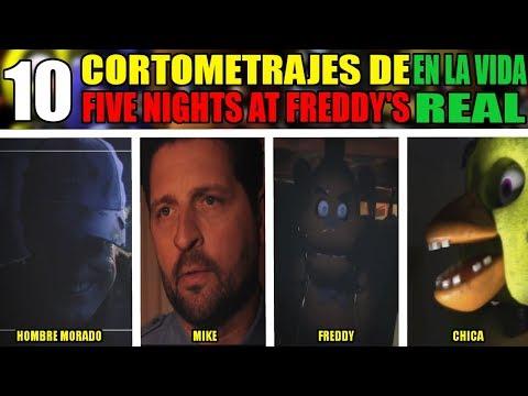 10 CORTOMETRAJES de FIVE NIGHTS AT FREDDY'S en LA VIDA REAL