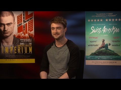 Daniel Radcliffe: 'I'm pretty handy. I put a desk together' – interview