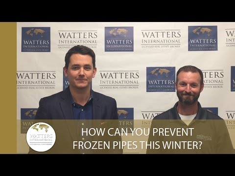 Greater Austin Real Estate Agent: How Can You Prevent Frozen Pipes This Winter?