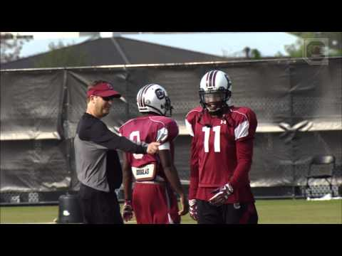 Wired: Co-Offensive Coord/Wide Receivers/Recruiting Coordinator Steve Spurrier Jr.