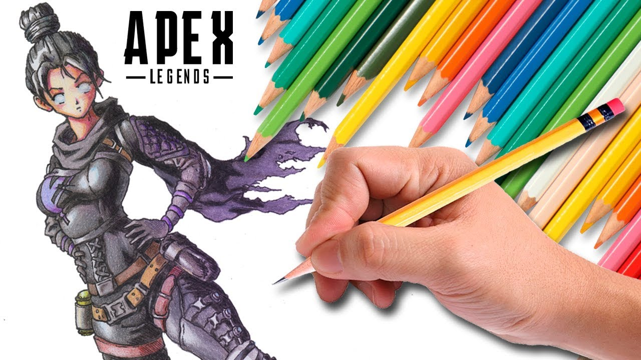 Drawing Wraith Apex Legends Youtube