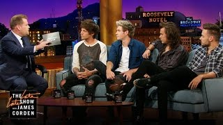One Direction Talks Life On the Road