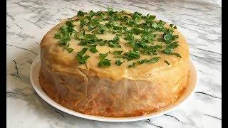 "НОВИНКА!!! ПИРОГ ""ГОЛУБЕЦ"" ЭТО ПРОСТО ЧУДО!!! / Пирог из Капусты с Фаршем / Cabbage Pie with Meat"