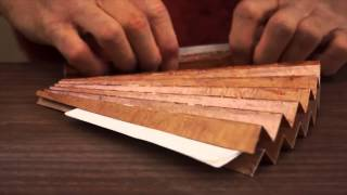 Japan Craft - Making a Japanese Folding Fan