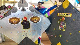 World's Biggest kites(7foot) Cheapest Market  | Sidhu moosewala kites 😱