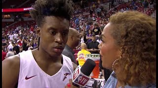 Collin Sexton Postgame Interview | Cavaliers vs Kings - July 11 | 2018 NBA Summer League