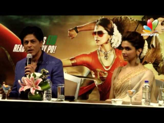 Chennai Express Movie Press Meet | Shahrukh Khan, Deepika Padukone, Rohit Shetty | Songs Travel Video