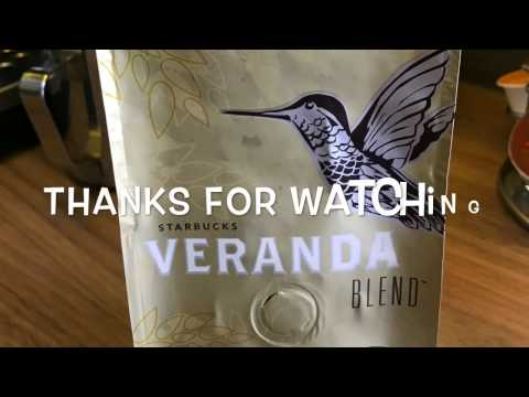 Starbucks Veranda Coffee bean review, My Coffee Journey episode 8