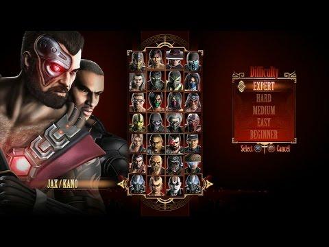 Mortal Kombat 9 - Expert Tag Ladder (Jax & Kano/3 Rounds/No Losses)