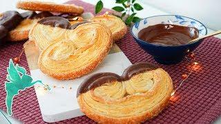 Schweineöhrchen selber machen - Selbst gemachter Blätterteig für Schweineöhrchen - Kuchenfee