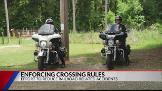 Union Pacific and Longview Police team up to prevent train related accidents