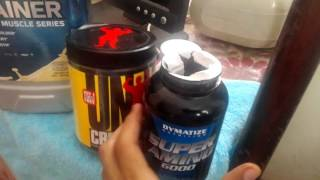 los suplementos animal pack daily formula creatine  hard mass gainer super animo