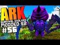 ARK Survival Evolved BROODMOTHER BOSS TAMING BEAVER, PIMP MY DINO MOD Modded 56 ARK Gameplay